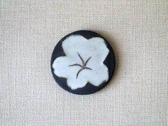 コースター(銀彩 桔梗A)の画像