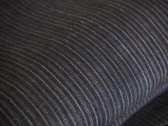 asa0040 縞紋様麻布 100cm 古布古裂/木綿/筒描き/型染め/藍染/絹/ボロ襤褸の画像