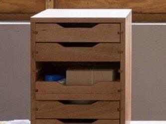 受注生産 職人手作り 小引き出し 卓上収納 オフィス雑貨 テレワーク おうち時間 ギフト 無垢材 木工 天然木 LR2018の画像