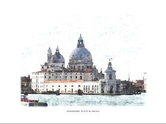 ヴェネツィアの風景-1 (油絵風)の画像