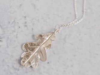 Oak leaf necklace [P077K10]の画像