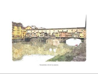フィレンツェの風景 (油絵風)の画像