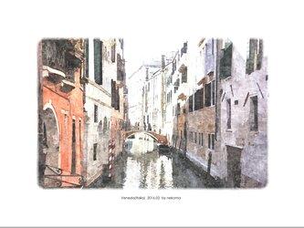 ヴェネツィアの風景-3(油絵風)の画像