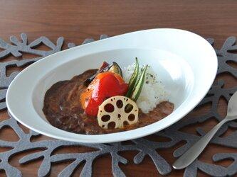 みかわちカレー皿 ブランの画像