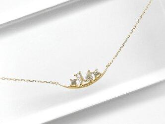 K10YG ブランコ ダイヤネックレスの画像