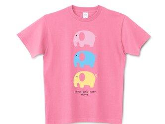 象のモリス 半袖Tシャツ/カットソー フリーサイズ アパレル/アニマルモチーフの画像