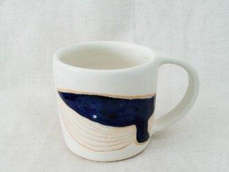 くじらマグカップ(白)の画像