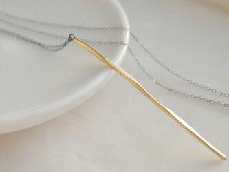 twig〜真鍮ロングネックレスの画像