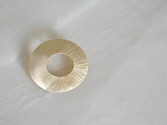 brooch〜真鍮ブローチピンの画像