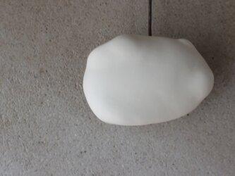 雲 cloud 壁掛け花器 横長 オブジェ 中の画像