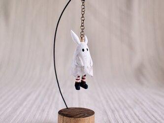 受注制作 お化けウサギ- 塑像の画像