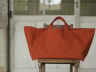 【テラコッタ】かごバッグの画像
