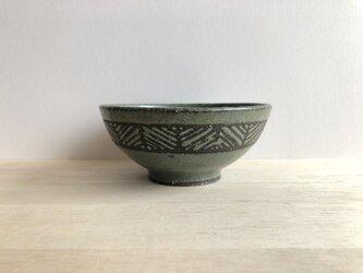 茶碗(ヘリンボーン・グリーン)の画像