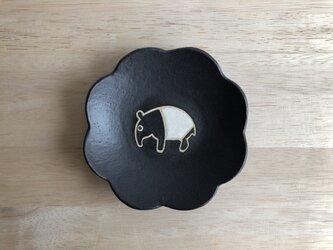 花皿(マレーバク・黒)の画像
