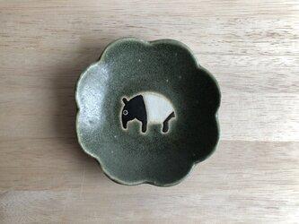 花皿(マレーバク・グリーン)の画像