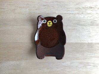 クマ小皿の画像