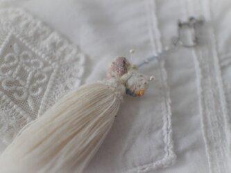 order ○ 記憶のほつれ 雨粒纏う蝶の耳飾りの画像