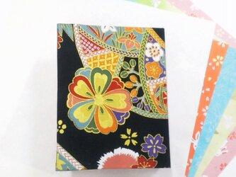 和物カードケース40枚入【黒鞠】の画像