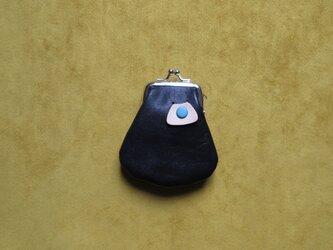 【黒】ミニがま口の画像