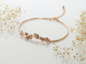 クローバー畑のブレスレット(pink gold)の画像
