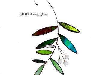 ステンドグラス グリーンワンG 210630G1の画像