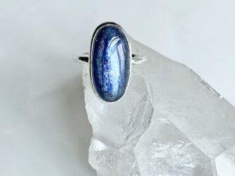 青の神秘・カイヤナイト・リング(15号)の画像