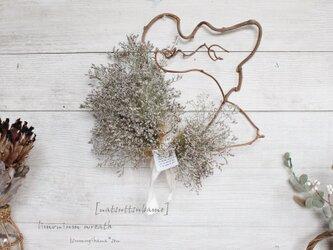 「なつつばめ」wreath  リモニウムの変わりリース   ドライフラワーリース の画像