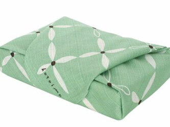 風呂敷 お弁当包み Kotoima ハナビシ 綿100% 50cm×50cmの画像