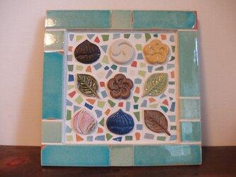 クラフトタイルモザイク 和菓子の画像