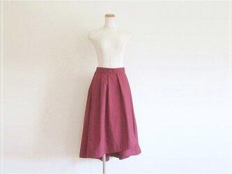 ボルドー* フィッシュテールラップスカートの画像