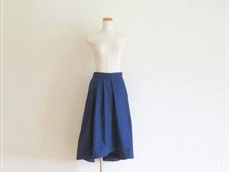 navy* フィッシュテールラップスカートの画像