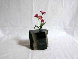 石の一輪挿し4の画像