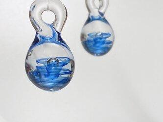 水の波紋ペンダントトップの画像