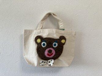 くまのバッグの画像