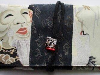 5722 お宮参り着で作った和風財布・ポーチ #送料無料の画像