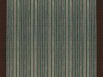 大判 風呂敷 いせ辰 縞小紋 紺色 綿100%  128cm×128cmの画像