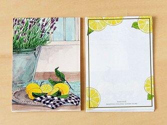 メモ紙 レモンの画像