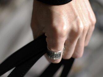 【オーダー 紫様】鏡面 シルバーウェーブプレーンリング 2.0mm幅 ミラー SILVER RINGの画像
