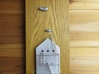 壁掛け「家と梯子」の画像