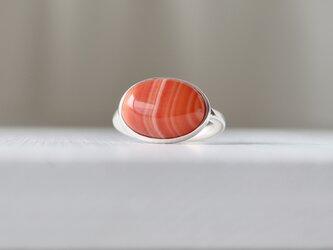 シマシマ プチトマト風味のカーネリアン ringの画像