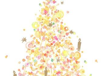 クリスマスカードの画像