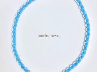 スワロフスキーチョーカー ネックレスの画像