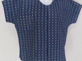 5730 浴衣の反物で作ったTシャツ #送料無料の画像