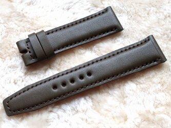 腕時計ベルト 20-18mm オリーブドラブ #91の画像