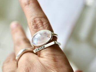 月兎のmoonストーン ringの画像