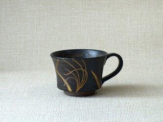 マグカップ(金銀彩すすきb)の画像