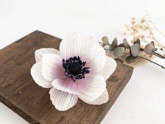 """Corsage : コサージュ """" Anemone. """" 【アンティークホワイト】の画像"""
