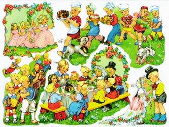 ドイツ製クロモス ガーデンパーティー ラメなし DA-CHRY005(Made in Germany)の画像