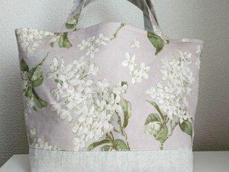 リバティランチバッグ archive lilacの画像