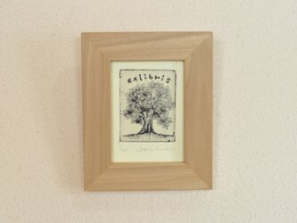 「Exlibris 02」銅版画 の画像